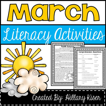 Literacy Activities (March)