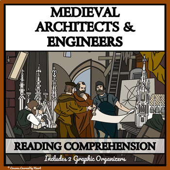 Reading Comprehension Bundle - Medieval Architects and Engineers