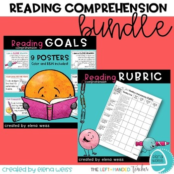 Reading Comprehension Bundle: Rubric and Posters