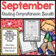 Reading Comprehension Bundle (September)