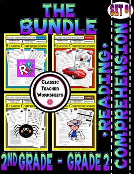 Reading Comprehension Bundle - Set 1 - 2nd Grade (Grade 2)