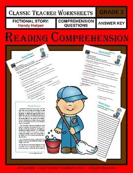 Reading Comprehension Bundle - Set 1 - 3rd Grade (Grade 3)