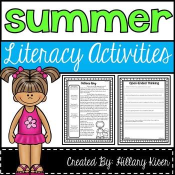 Reading Comprehension Bundle (Summer)