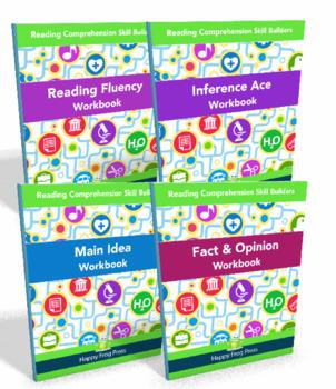 Reading Comprehension Bundle for Struggling Readers