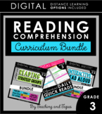 Reading Comprehension CURRICULUM BUNDLE (3rd Grade) **with