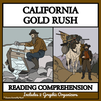BUNDLE READING COMPREHENSION - CALIFORNIA GOLD RUSH