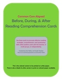 Reading Comprehension Cards (Color)
