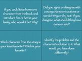 Reading Comprehension Cards Grade 3-5