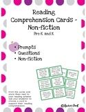 Reading Comprehension Cards - Non-fiction