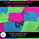 Reading Comprehension Center