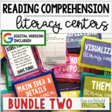 Reading Comprehension Center BUNDLE #2