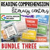Reading Comprehension Center BUNDLE #3