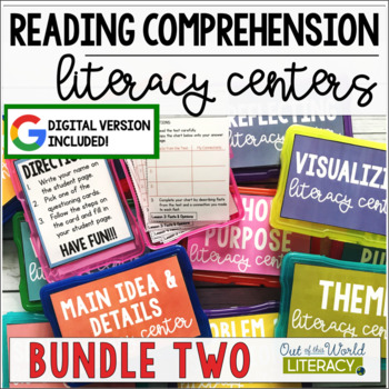 Reading Comprehension Center BUNDLE #1