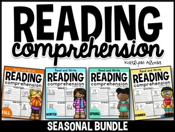 Reading Comprehension Check - SEASONS BUNDLE