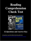 Reading Comprehension Check Test