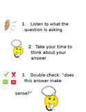 Reading Comprehension Checklist