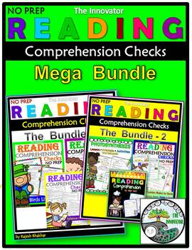 Reading Comprehension Checks – Mega Bundle