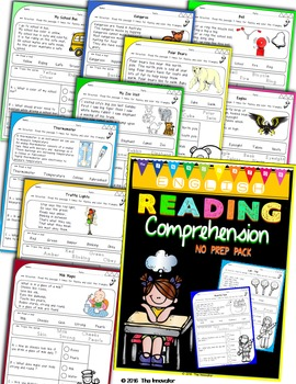 Reading Comprehension Checks – Passages