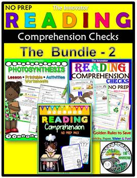 Reading Comprehension Checks - The Bundle - 2