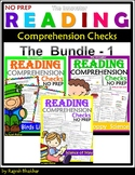 Reading Comprehension Checks - The Bundle -1