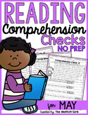 Reading Comprehension Checks for May (NO PREP)