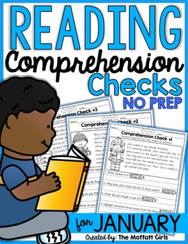 Reading Comprehension Checks for January (NO PREP)