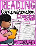 Reading Comprehension Checks for February (NO PREP)