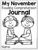 Reading Comprehension Checks for November (NO PREP)