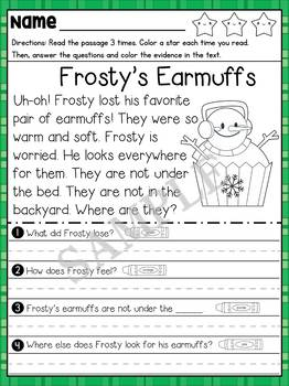 Reading Comprehension - Christmas Cupcakes : Reading Rabbit
