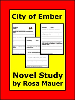City of Ember Literacy Unit