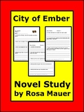 City of Ember Novel Study Questions and Answers