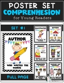 Reading Comprehension Posters Set #1