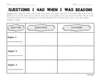 Reading Comprehension/Close Reading Worksheet (English)