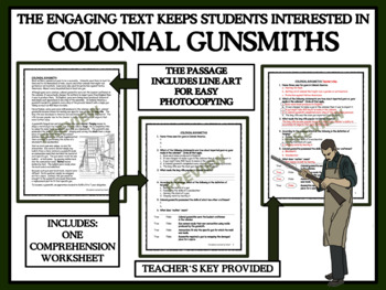 Colonial Gunsmiths - Reading Comprehension