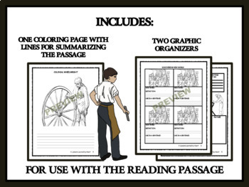Colonial Wheelwrights -Reading Comprehension