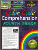 Close Reading Comprehension Color-Coding 4th Grade - Print