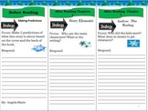 Reading Comprehension Common Core Christmas/Holiday  White