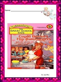 Reading Comprehension Common Core Valentine' s Day Bailey School Kids