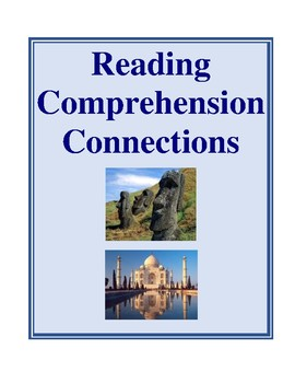 Reading Comprehension Connections, Activities and Worksheets