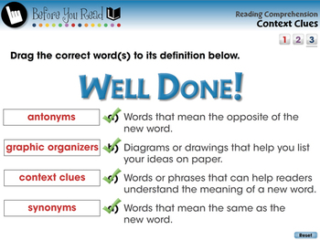 Reading Comprehension: Context Clues - PC Gr. 3-8