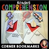 Reading Comprehension Corner Bookmarks
