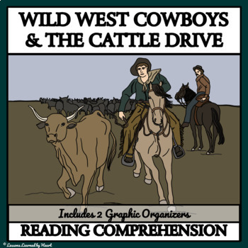 Reading Comprehension - Cowboys and the Cattle Drive 1800s