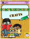 Reading Comprehension Crafts - reading strategies