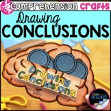 Reading Comprehension Crafts: Drawing Conclusions Activity