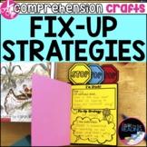 Reading Comprehension Crafts: Fix Up Strategies Reader Res