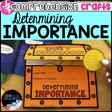 Reading Comprehension Crafts: Determining Importance Reade