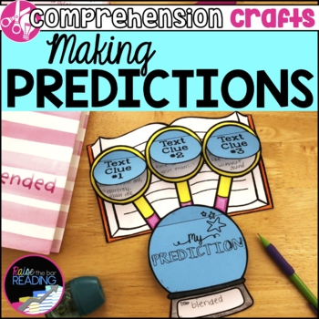 Reading Comprehension Crafts: Making Predictions Activity for Reader Response