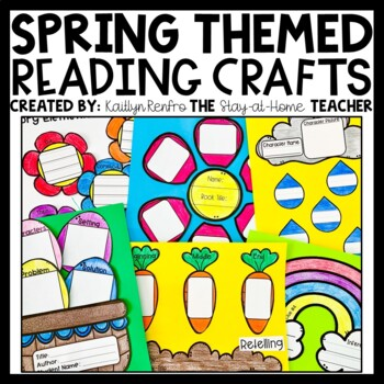 Reading Comprehension Crafts - SPRING
