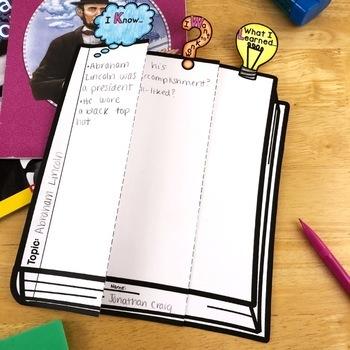 Reading Comprehension Crafts: Using Background Knowledge Schema Activity, KWL