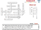 Reading Comprehension: Crossword - NOTEBOOK Gr. 3-8